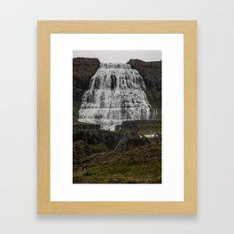 Dynjandi II Framed Art Print