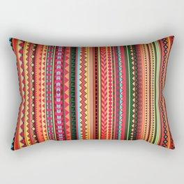 Bulgarian Rhapsody Pattern Rectangular Pillow