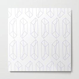 Almost Geometric Jewels Pattern 2 Metal Print