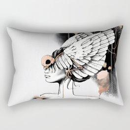 Bird of Minerva Rectangular Pillow