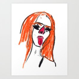drawing_040720 Art Print