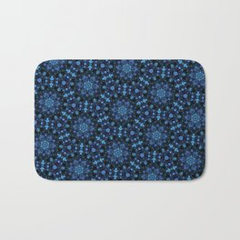 Night Florals Bath Mat
