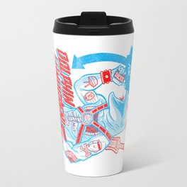 A Juicebox for Dolphin Lundgren Travel Mug