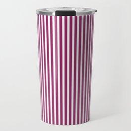Festival Fuchsia Stripes Travel Mug