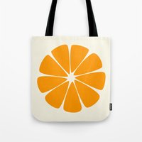 agnes cecile Tote Bags featuring Cecile by LHD2