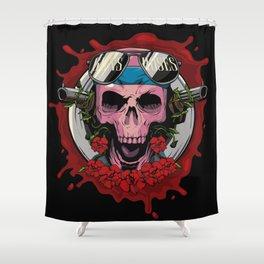 Rockarture GNR Shower Curtain
