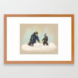 Special Moments With Dad Framed Art Print