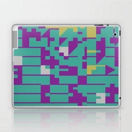 Abstract 8 Bit Art Laptop & iPad Skin