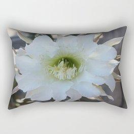 Night Blooming Cactus Rectangular Pillow