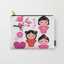 Little love Geishas, love design elements Carry-All Pouch
