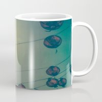 lanterns Mugs featuring Lanterns by Leandro