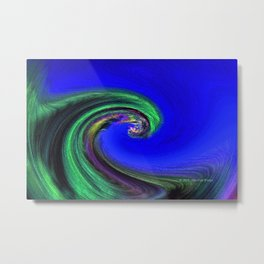 """Night Wave"" Photograph Metal Print"