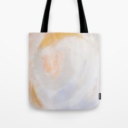 Chaos in Gold Abstract Art Tote Bag