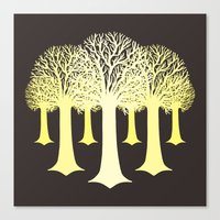 gondor Canvas Prints featuring electricitrees by freshinkstain