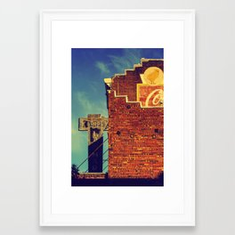 Petaluma Framed Art Print