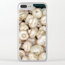 Fresh food in the supermarket Clear iPhone Case