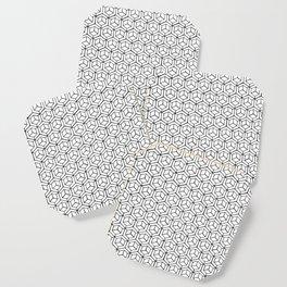 Hand Drawn Hypercube Coaster