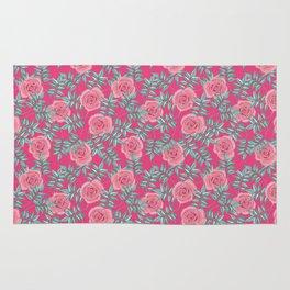 Roses Pink Rug
