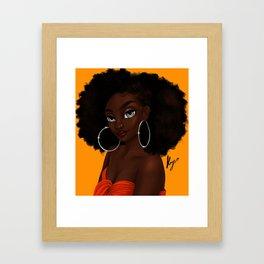 bantu Framed Art Print