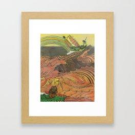 Mu Guai and the Tiger's Eye, Panel 9 Framed Art Print
