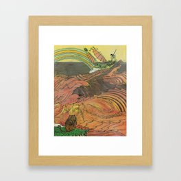 Mu Guai and the Tiger's Eye, Panel 9 Framed Art Print