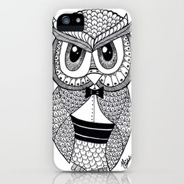 Richie the Owl iPhone Case