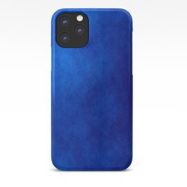Misty Deep Blue iPhone Case