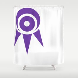Seeker's Eye - Minimal Shower Curtain