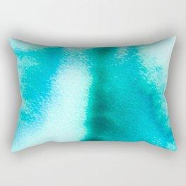 Bloom in Blue Rectangular Pillow