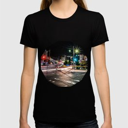 Narita light-trails T-shirt
