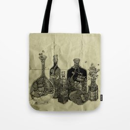 sea witch's cabinet Tote Bag