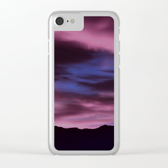 SW Rose Quartz Sunrise Clear iPhone Case