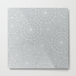 Spiderweb Pattern Metal Print