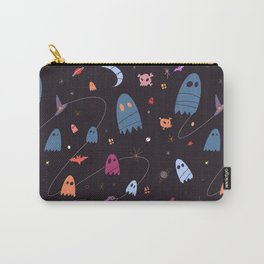 Spooky Ghost Halloween Party Carry-All Pouch
