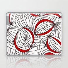 doodle hoops Laptop & iPad Skin