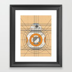 BB-8 Deco Droid Framed Art Print