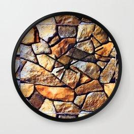 Eagle Moss Rocks Wall Clock