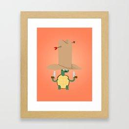 Turtle2 Framed Art Print