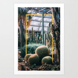 Neon Botanical V Art Print