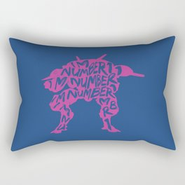 Dva type illustration Rectangular Pillow