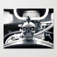 Gritty skull Canvas Print