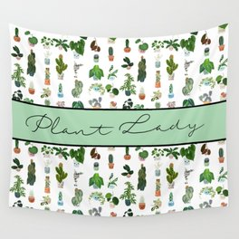 Plant Lady Confetti  Wall Tapestry