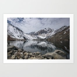 Convict Lake, California Art Print