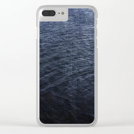 Cold Blue Waters of Little Lake Clear iPhone Case