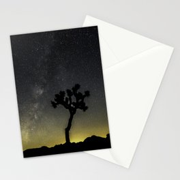 Milky Way at Joshua Tree Stationery Cards