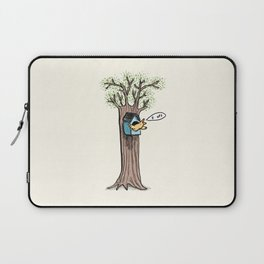 Rude Bird Laptop Sleeve