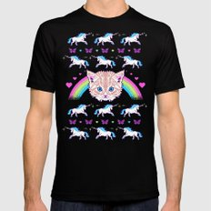 Most Meowgical Sweater Black LARGE Mens Fitted Tee