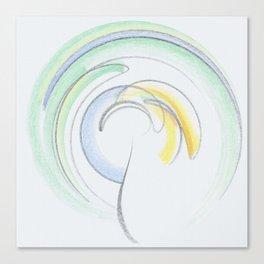 whirlwind romance Canvas Print