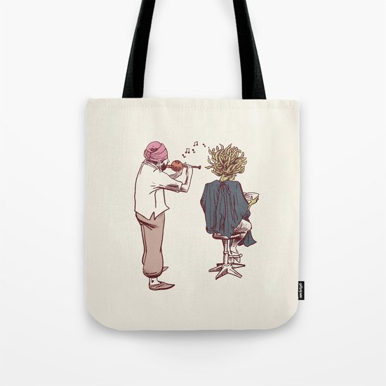 New Hairstyle Tote Bag
