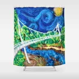 2016 Liberty Bridge Shower Curtain